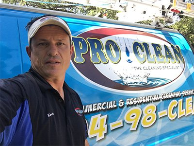 Proclean Services Owner Kevin Archambault